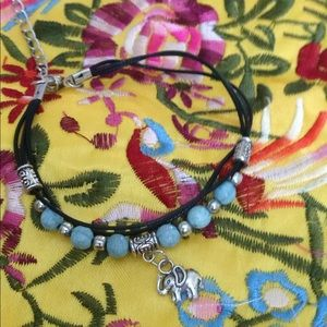 Jewelry - Cute ankle bracelet with the elephant